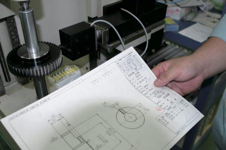 Detailed design with product drawing